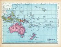 Page 120 - Oceania, World Atlas 1911c from Minnesota State and County Survey Atlas